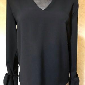 Zara Basic Collection Black Blouse